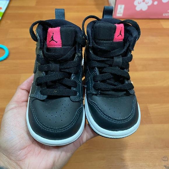 Little Girl 4c Black Jordans | Poshmark